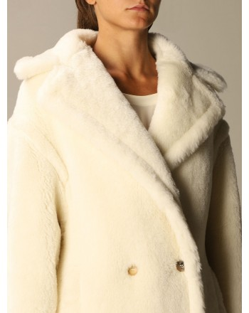 MAX MARA - TEDDY4 Coat - White