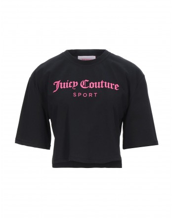 JUICY COUTURE - CARLA T-Shirt - BLACK