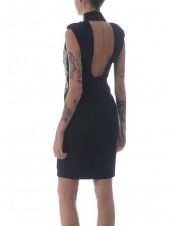 PINKO - Stretch Crepe Dress ETHAN - Black