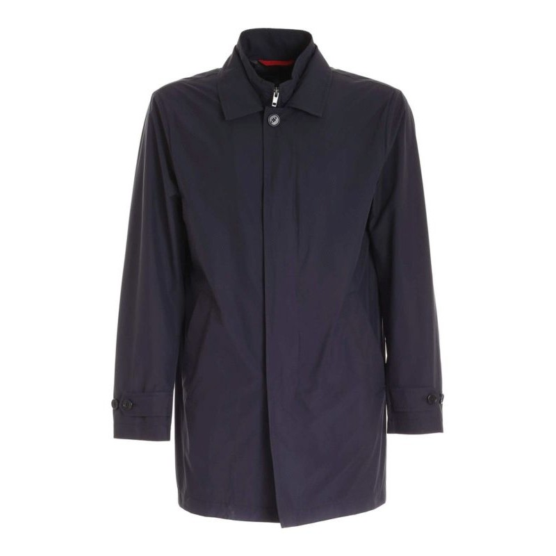 FAY  -  Impermeabile Morning Easy - Blu Navy -