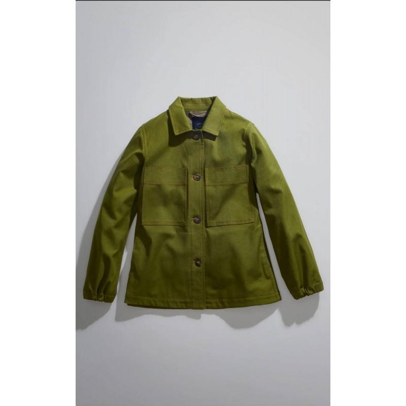 FAY - Jacket with Hook - Dark Kiwi