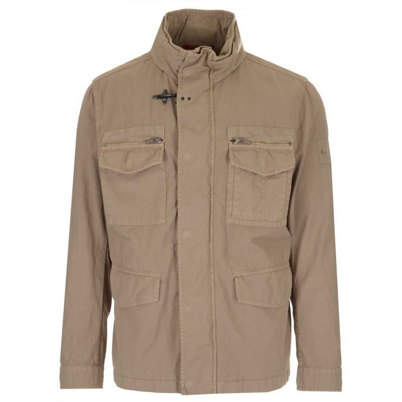 FAY - Field Jacket - Nocciola Chiaro -