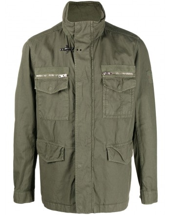 FAY - Field Jacket - Oliva Scuro -