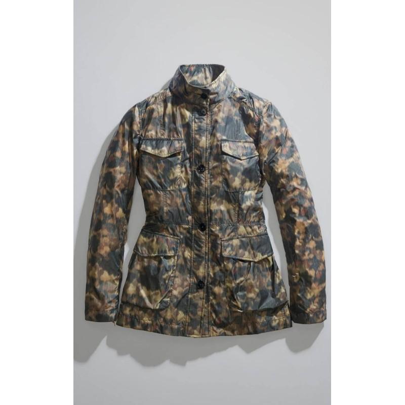 FAY -  Field Jacket - Mimetico