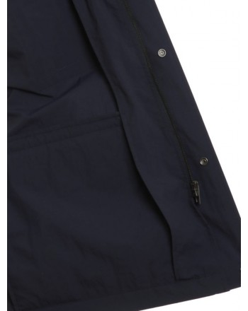 FAY - Field Jacket - Blu Petrolio