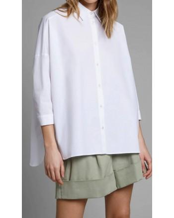 FAY - Oversized shirt - White