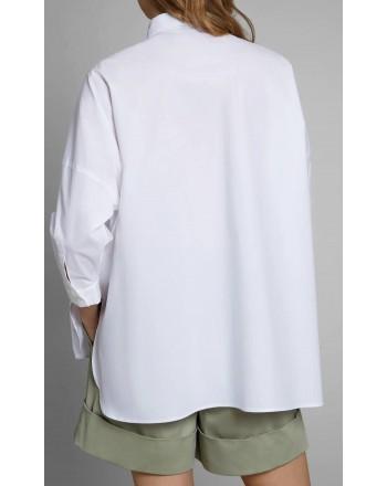 FAY - Camicia over - Bianco