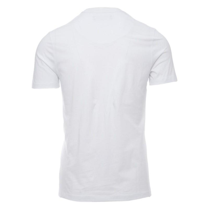 FRANKIE MORELLO - Cotton T-Shirt with Basic Logo Print - White