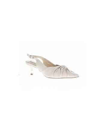 EMANUELLE VEE - Sandalo con nodo - Bianco