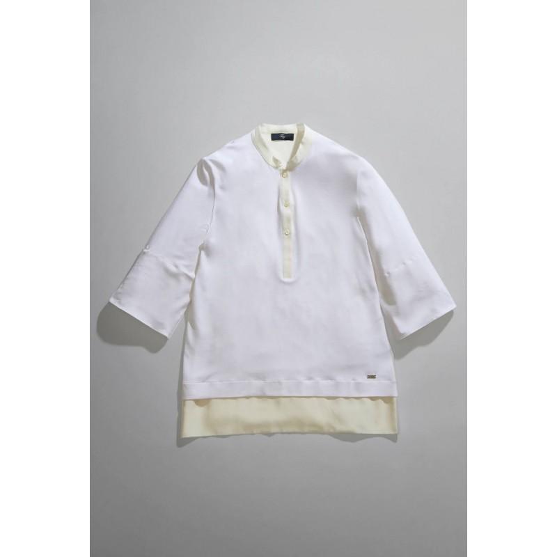 FAY - Jersey polo shirt - White