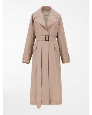 MAX MARA THE CUBE - Cotton taffeta trench coat - Dusty Pink