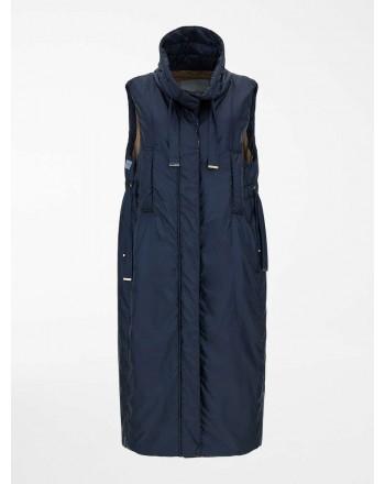 MAX MARA THE CUBE - Drip-proof canvas vest - Dark Blue