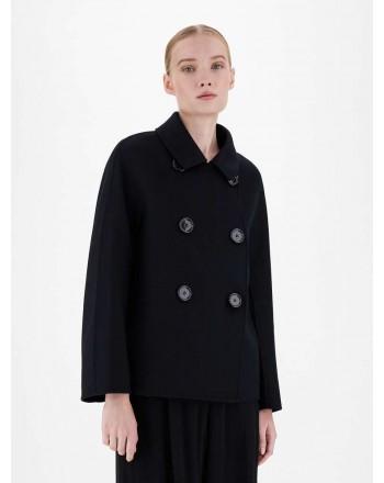 S MAX MARA - Wool jacket - Black
