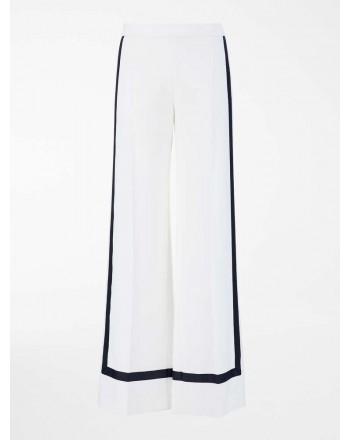 MAX MARA - Pantaloni in cady - Bianco Seta