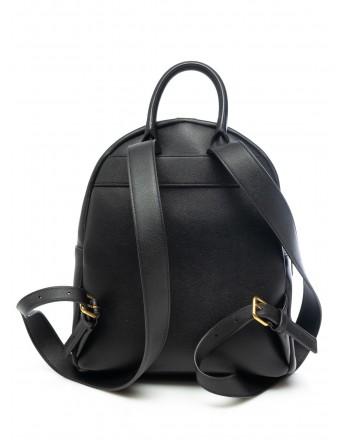 LOVE MOSCHINO - Zip Logo Backpack - Black