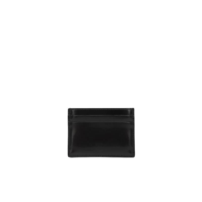 BURBERRY - Portafoglio in tela spalmata - Nero