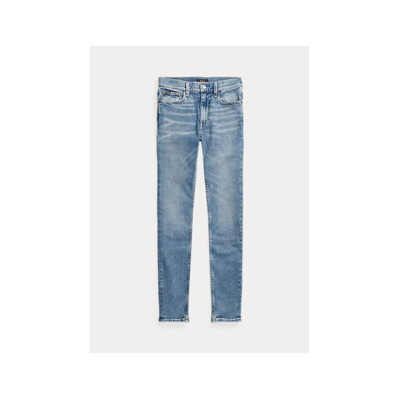 POLO RALPH LAUREN  - Jeans Tompkins skinny - Light Indigo