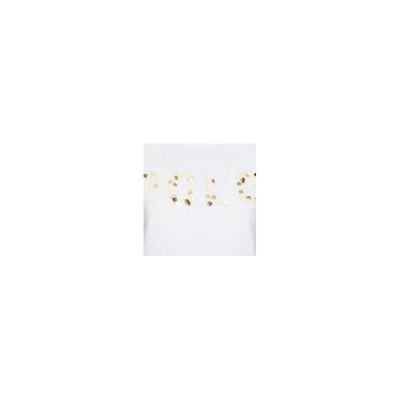 POLO RALPH LAUREN  - T-Shirt  With Shells - White -