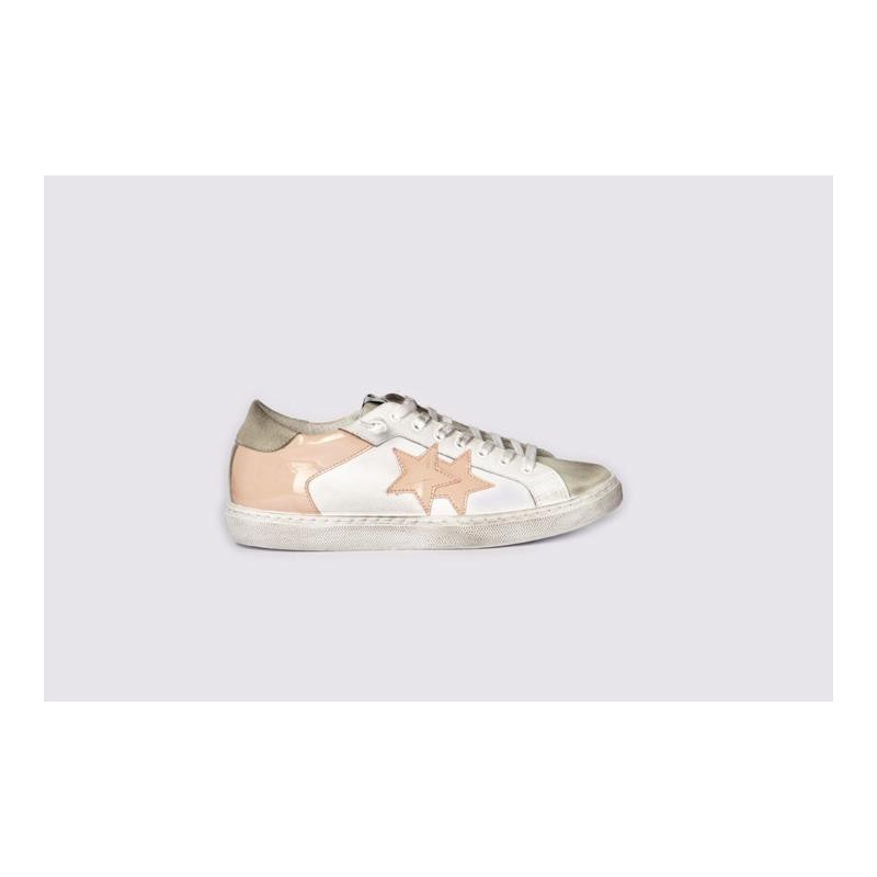 2 STAR - Sneakers 2S3040  White/Pink