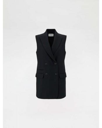 SPORTMAX - Sleeveless blazer - Black