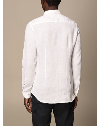 FAY - French collar shirt - White -