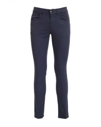 FAY - Pantalone 5 tasche - Blu Denim Scuro