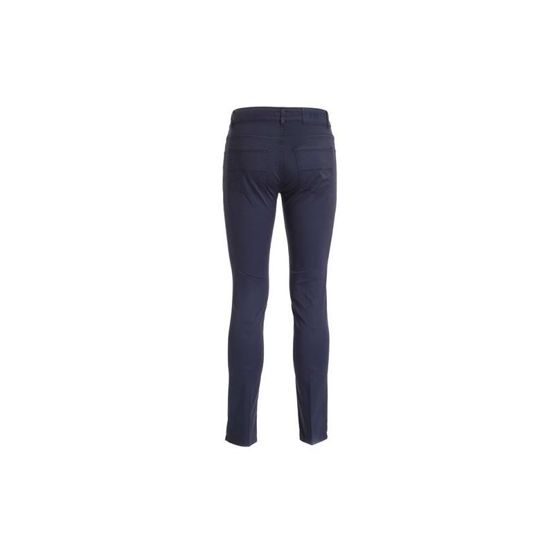 FAY - 5 pocket trousers - Dark Denim Blue