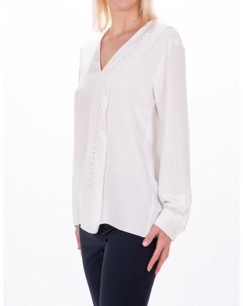 MAX MARA - SATURNO silk blouse - Ivory