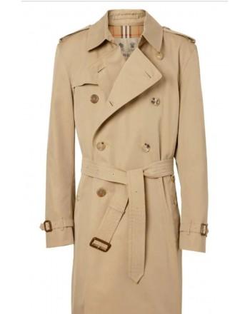 BURBERRY - Trench coat Heritage The Kensington medio - Honey