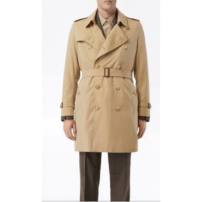 BURBERRY - The medium Kensington Heritage trench coat - Honey