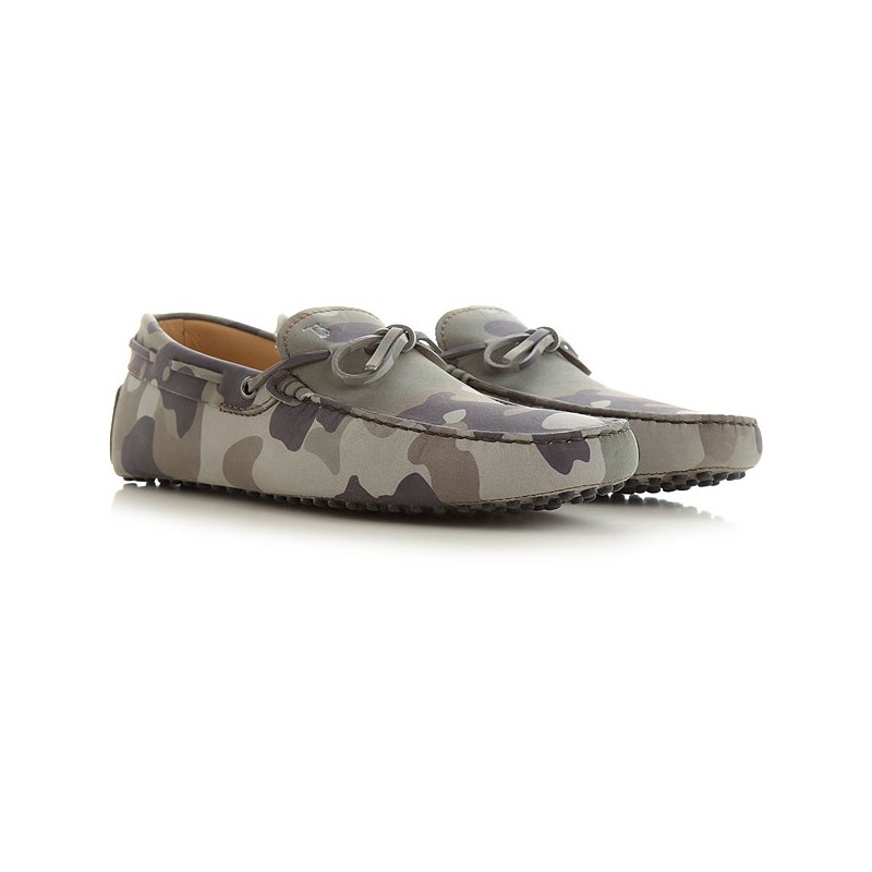 TOD'S - Moccasin Rubber Sole - Military