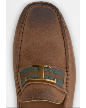 TOD'S - Mocassino Gommino - Marrone