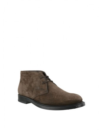 TOD'S - Suede Desert Boots - Brown -