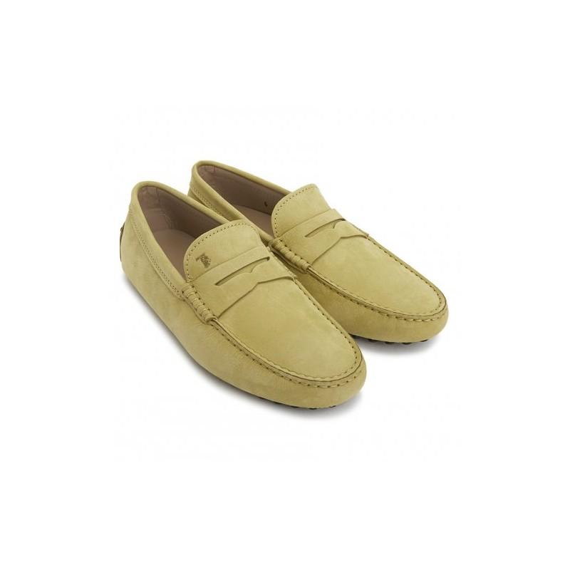 TOD'S - Gommino Moccasin in Nabuk - Sandal