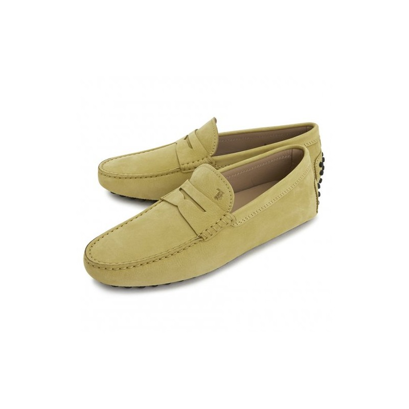 TOD'S - Mocassino Gommino in Nabuk - Sandalo