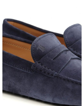 TOD'S - Suede loafers - Galaxy