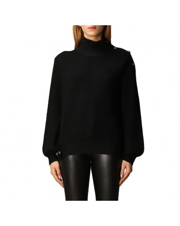 PINKO - Wool Knit YEMEN - Black
