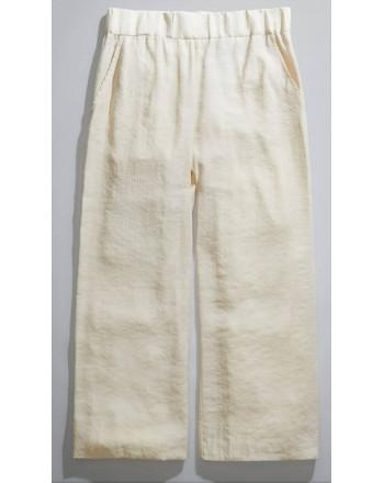 FAY - Fluid Trousers - White Wool