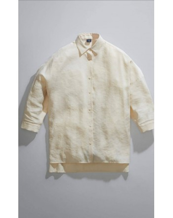 FAY - Over Shirt - White Wool