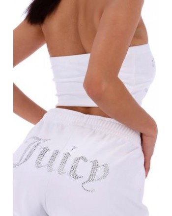 JUICY COUTURE - TAMIA TRACK SHORT - WHITE