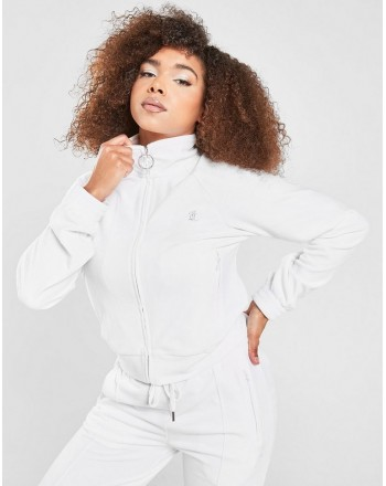 JUICY COUTURE - TANYA FRONT ZIP CLOUSURE - WHITE