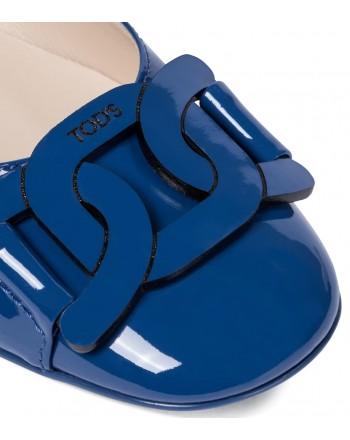 TOD'S - Patent leather ballet flats - Tyrrhenian -