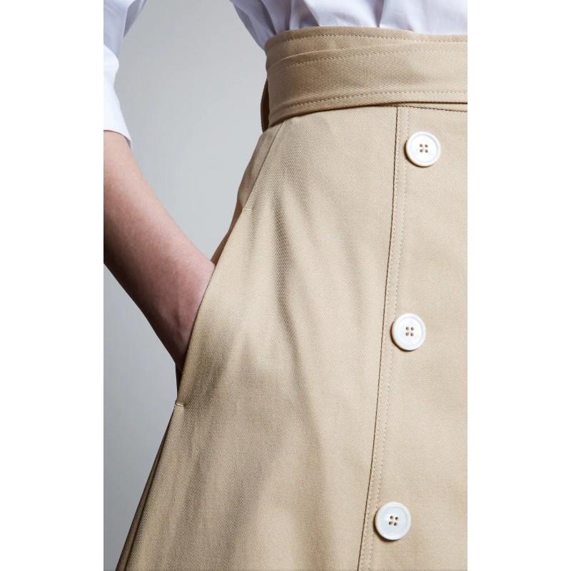 FAY - Wrap skirt - Natural