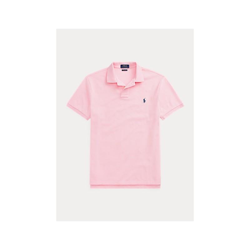 POLO RALPH LAUREN  - Pole in Pique' Slim Fit - Carmel Pink  -