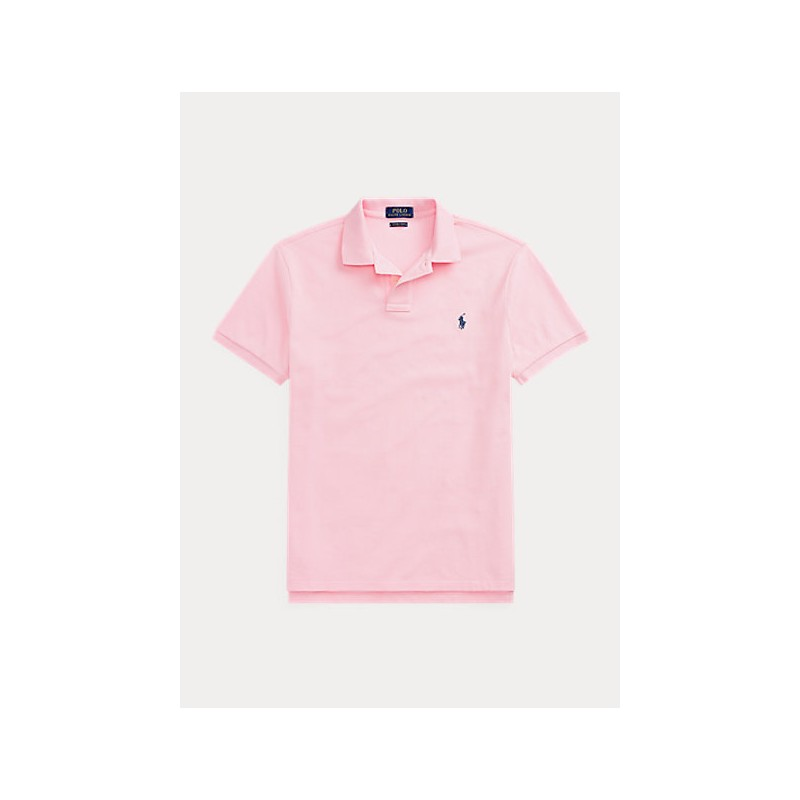 POLO RALPH LAUREN  -  Polo in Pique' Slim-Fit - Rosa