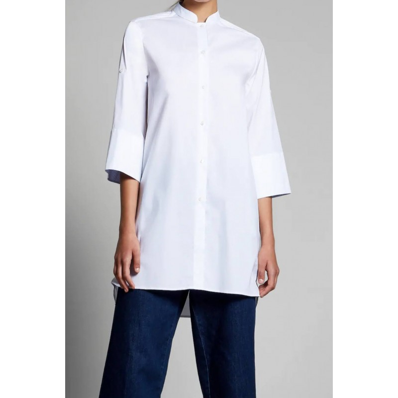 FAY - Maxi Camicia - Bianco