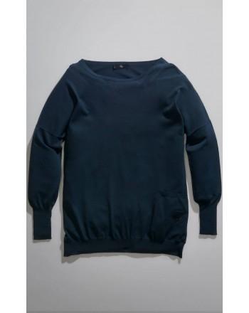 FAY - Crewneck Pull - Navy Blue