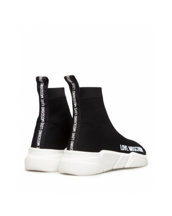 LOVE MOSCHINO - Sneakers Calza  - Nero