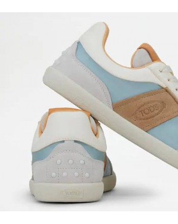 TOD'S Sneakers in pelle scamosciata - Bianco