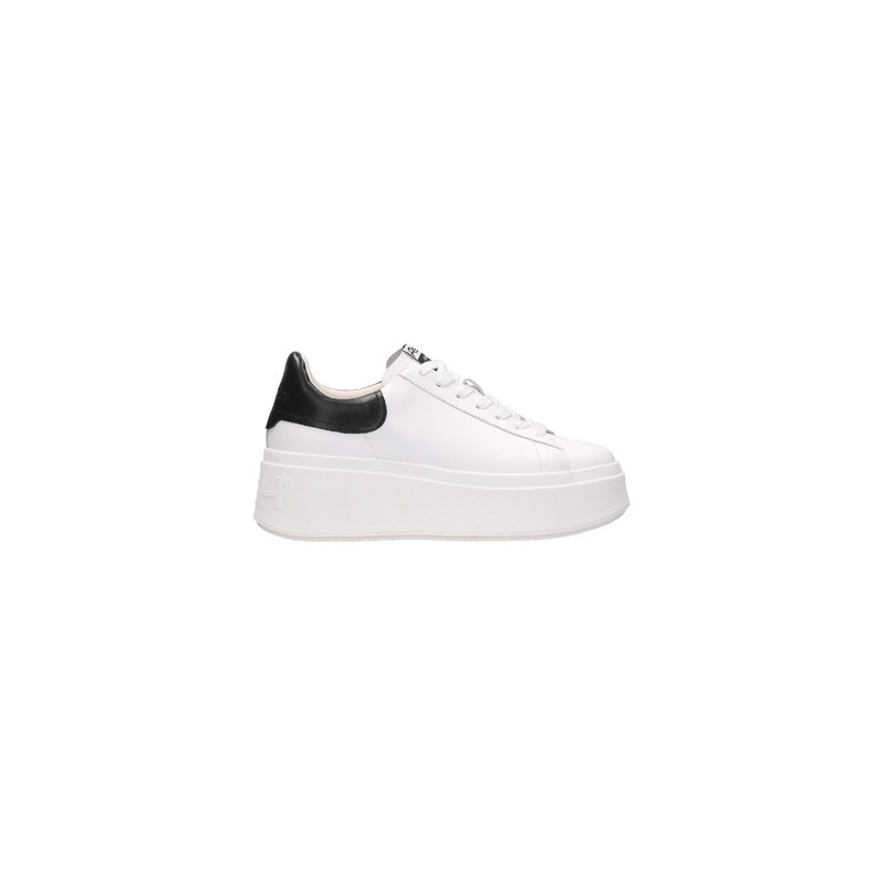 ASH - Sneakers MOBY inPelle - White/Black
